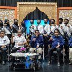 Finalis Duta Bahasa Riau berkunjung ke LPP TVRI Riau Kepri