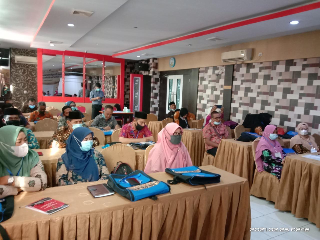 Sosialiasi Penghargaan Wajah Bahasa Sekolah Tingkat SLTA Sekabupaten Meranti