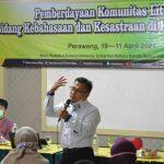 Pemberdayaan Komunitas Literasi Bidang Kebahasaan dan Kesastraan di Kabupaten Siak