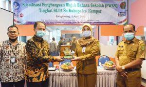 Sosialisasi Penghargaan Wajah Bahasa Sekolah (PWBS) Tingkat SLTA Se-Kabupaten Kampar