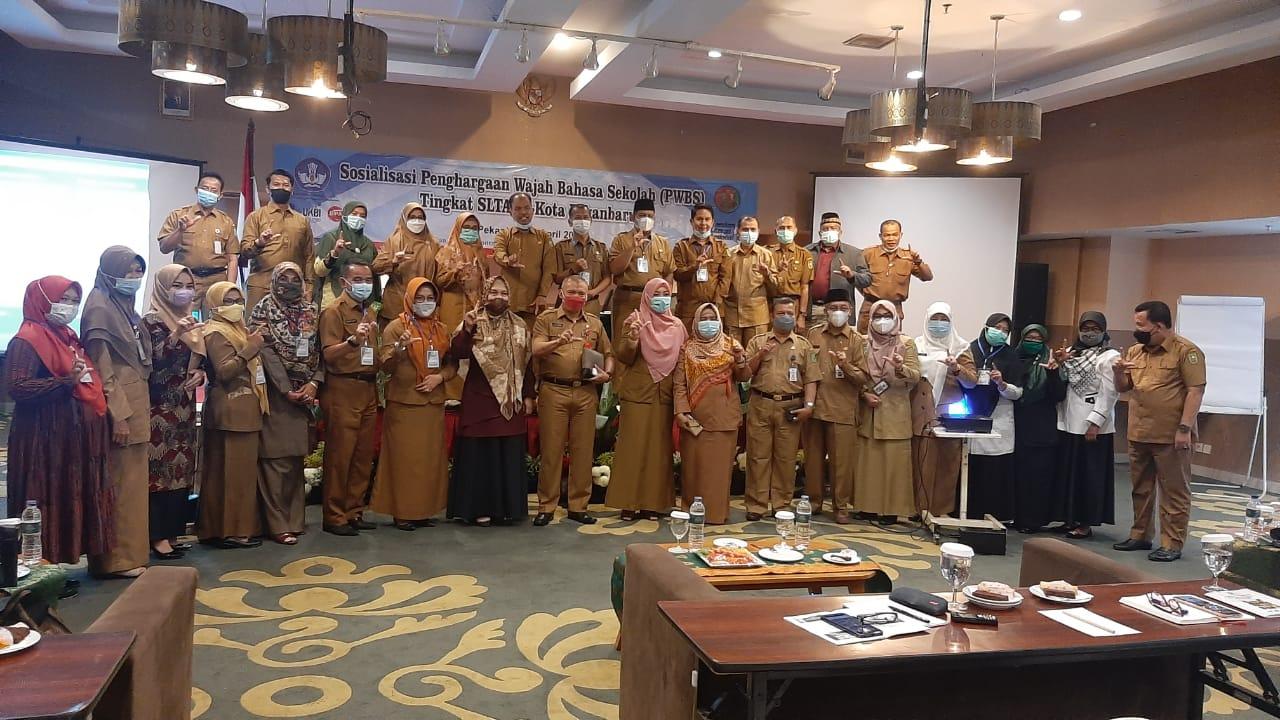 Sosialisasi Penghargaan Wajah Bahasa Tingkat SLTA Se-Kota Pekanbaru